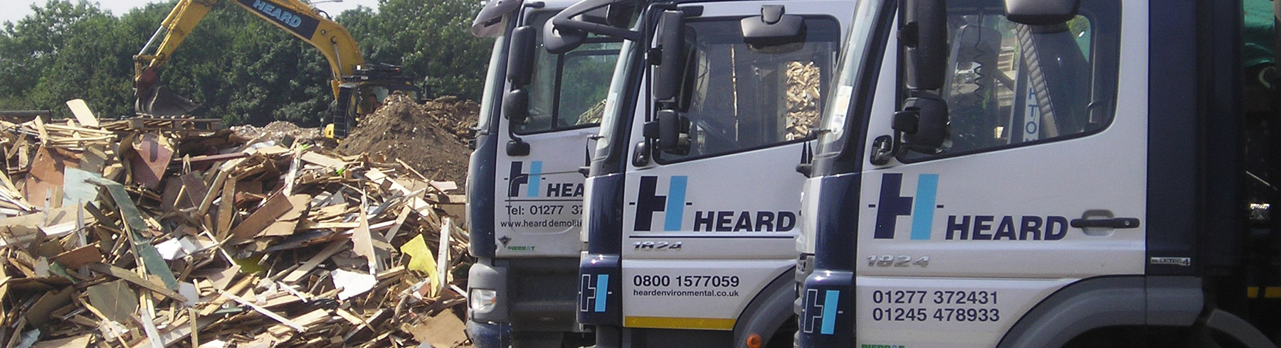 Essex Skip Hire Vehicles